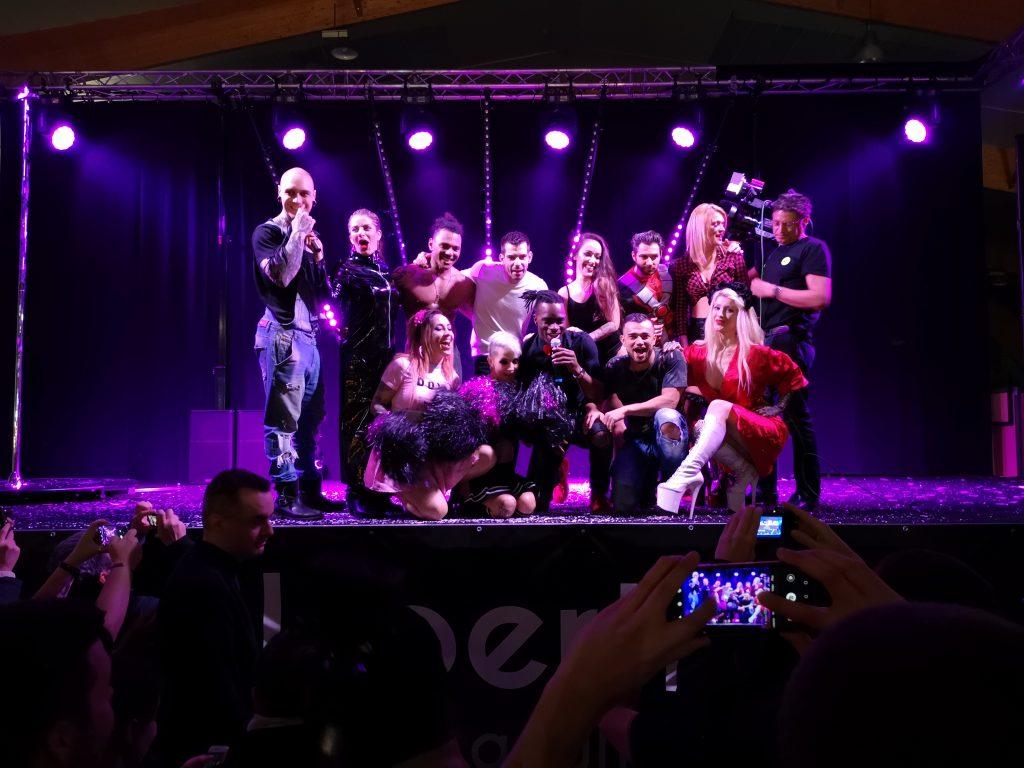 Equipe du salon Erosexpo 2019 Rennes